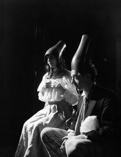Женитьбагоголя (реж. Роман Смирнов). Марина Солопченко и Валерий Кухарешин